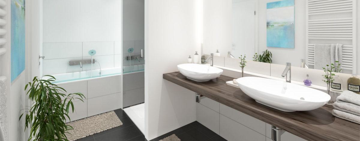 HanseKarree - Badezimmer